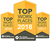 Top Places to Work 3 Years in a Row